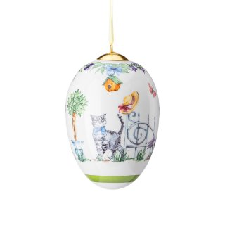 Uovo in porcellana midi