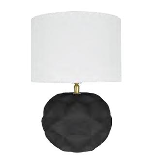 LAMPADA  IRIS MATT BLACK CM 36