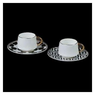 SET 2 TAZZE CAFFE' HENRIETTE