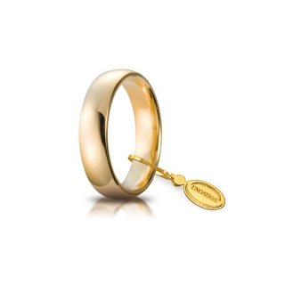 Fede Comoda In Oro Giallo 5mm