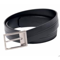 Cintura in pelle nera