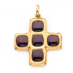 Pendente a forma di croce...