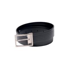 Cintura in pelle nera...