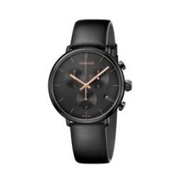 Orologio total black con...